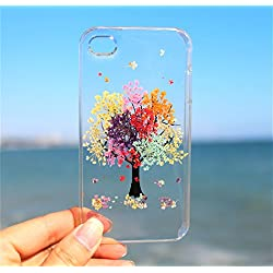 Rainbow Tree Blossom Sony Xperia Z3 Mini Floral Phone Case- Pressed Dried Flowers On Sony Xperia Z3, Z3 Mini, Z5, Z5 Mini Crystal Clear Snap on Cases