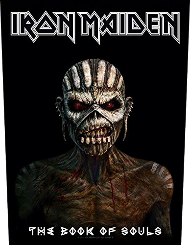 Iron Maiden Targhetta vivigade toppa The Book Of Souls Grindstore BP1029