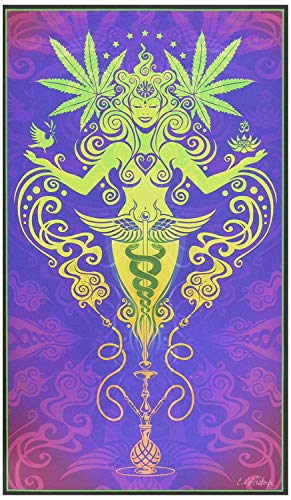 My Wonderful Walls Cannabis Graphic Art Sacred Smoke by Cristina