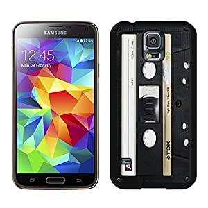 Audio Cassette Samsung Galaxy S5 Case Black Cover