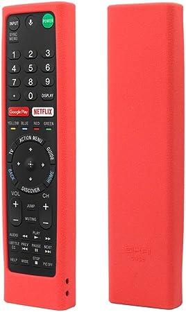 Baodanjiayou - Carcasa de silicona para mando a distancia de Smart TV RMF-TX200C: Amazon.es: Electrónica