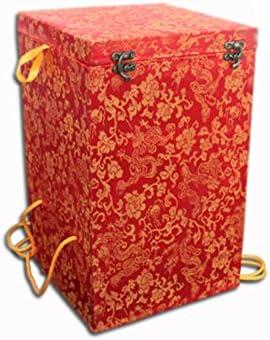 Caso de botella de cerámica caja de brocado exquisita paquete ...