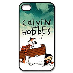 Calvin And Hobbes Image Protective iPhone 5S Case Cover Hard Plastic Case for Iphone 5S