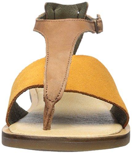 Flat Sandal Naturalista Carrot de Wood nbsp;Tulip la nf35 mujer El 0YvzY