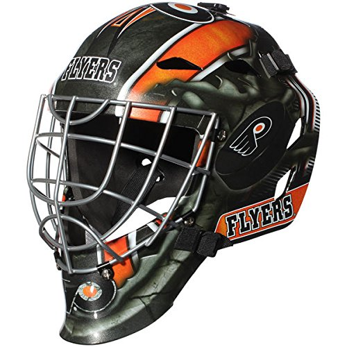 Philadelphia Flyers NHL Full Size Youth Goalie Hockey Mask - New with Tags - Not for Competitive Play