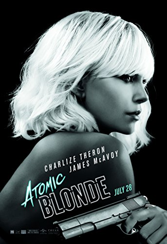 Atomic Blonde 2017 Movie Poster Matte Style / Charlize Theron