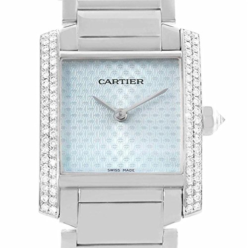 Cartier Tank Francaise quartz womens Watch WE1020S3 (Certified Pre-owned)