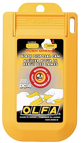 OLFA 1064415 DC-4 Blade Disposal Case Razor Blade Disposal