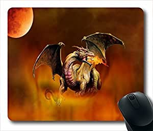 Matiss dragon Unique Custom Mouse Pad Gaming Mousepad in 220MM*180MM*3MM -213094 by runtopwell