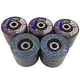 Premium Zirconia Flap Disc 4-1/2'' X 7/8'' 60 GRIT Pack of 50