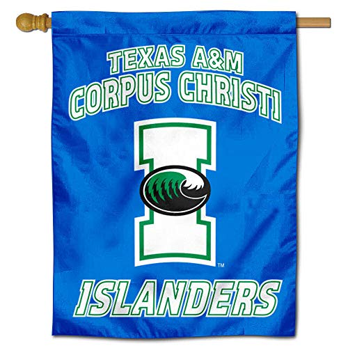 College Flags and Banners Co. TAMU CC Islanders Double Sided House Flag