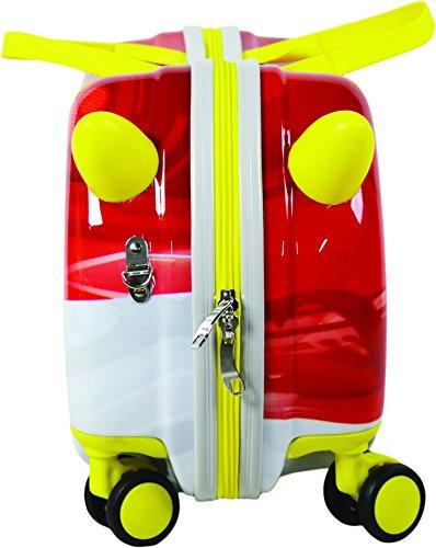Nickelodeon Paw Patrol Carry On Luggage 20'' Kids Ride-On Suitcase Bonus Activity Pack by Nickelodeon (Image #2)