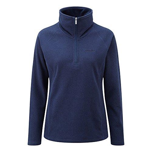 Craghoppers - Jersey polar con media cremallera modelo Somerton para mujer Night Blue