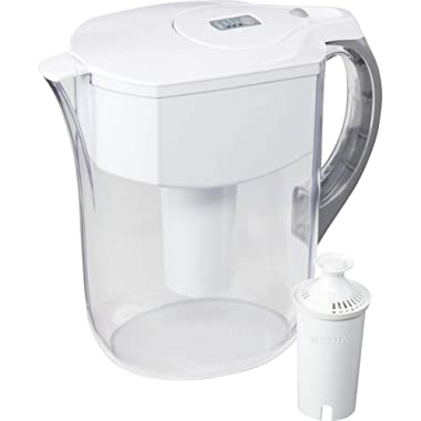 Brita Large 10 Cup Grand Water Pitcher with Filter - BPA Free - Available in Multiple Colors
