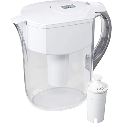 brita large 10 cup grand water pitcher with filter - bpa free ...