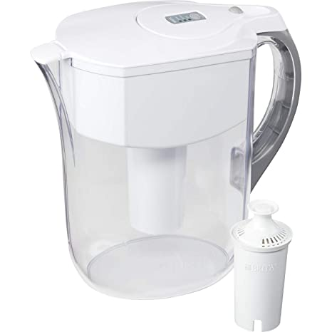 Brita 35939 Grand Pitchers, White