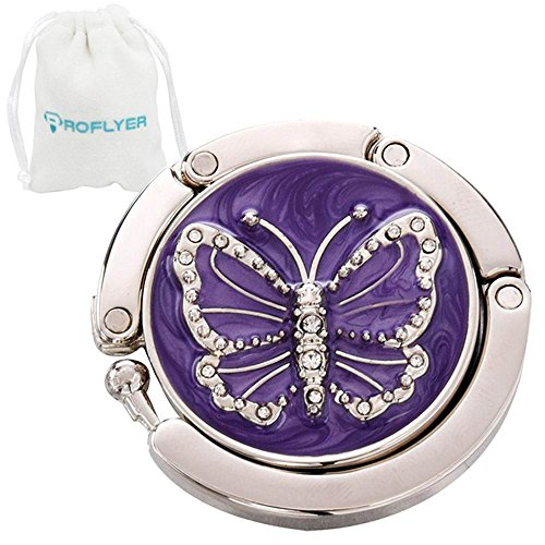 ROFLYER Butterfly Round Purse Hook product image