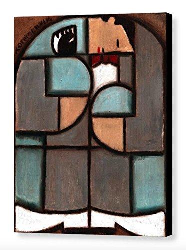 Tommervik Chairy And Pee-wee Herman Art Print Cubism Art Pee-wee Herman Art Gallery Wrapped Canvas Print (Wee Gallery Art)