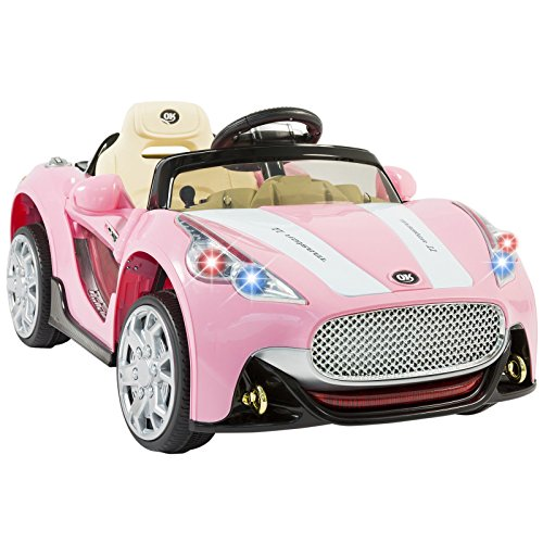 [Eight24hours 12V Ride on Car Kids RC Car Remote Control Electric Power Wheels W/ Radio & MP3] (Batmobile Stroller Costume)