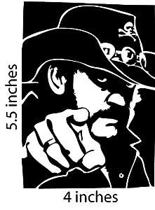 Amazon Com Lemmy Motorhead Sticker Cut Vinyl Decal