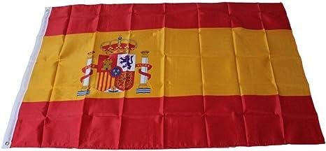 gaddrt Decor figura decorativa en España Bandera Nacional bandera decoración del hogar: Amazon.es: Deportes y aire libre