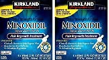 Kirkland eAEihz Minoxidil 5 percent Extra Strength Hair Regrowth for Men, 12 Months