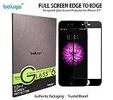Beluga Glass Screen Protector, Black Edge