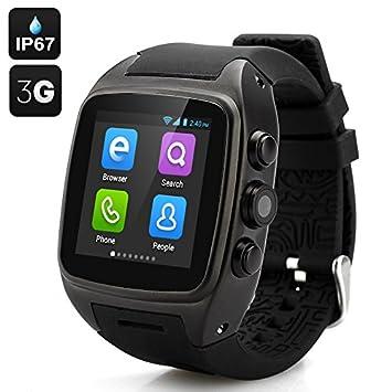 Smartwatch con Tarjeta SIM Cámara MP3 MP4 Navegador Pantalla ...