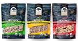 truRoots Accents Gluten-Free Sprouted Grain Blends 3 Flavor Variety Bundle: (1) Sprouted Quinoa Trio, (1) Sprouted Lentil Trio, and (1) Sprouted Rice Trio, 8 Oz. Ea.