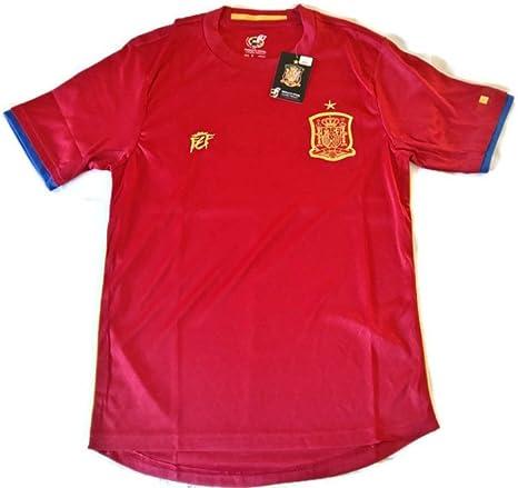 original Camiseta Selección Española Oficial Eurocopa 2016 - Talla M: Amazon.es: Deportes y aire libre