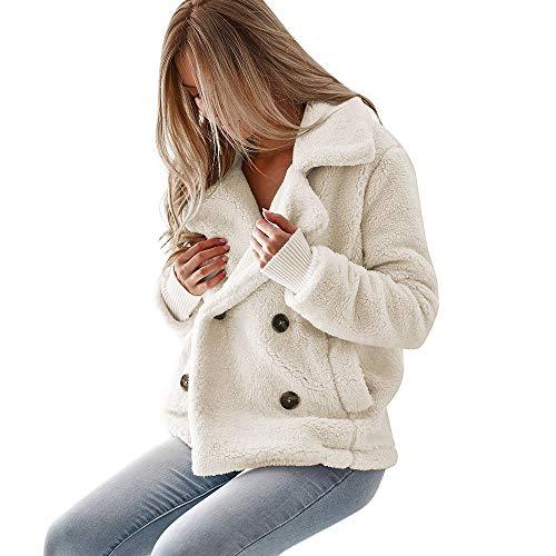(Vintage Women Coats with Faux Fur Duseedik Biker Motorcycle Overcoat Leather Zipper Jacket Outercoat Outwear Waistcoat)