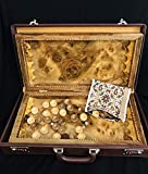 Luxurious Backgammon Handmade from Walnut Wood 600 years old