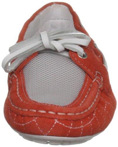 Rockport Womens Etty Cousu Chaussure Bateau Saumon Rose