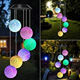 BINWO Solar Wind Chime,Color Changing Wind Chimes