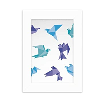 Amazon.com: DIYthinker Colorful Origami Abstract Pigeon ...