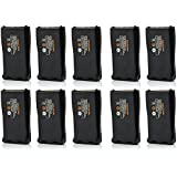 Aweek® Replacement Rechargeable Battery 2800mAh Li-ion Battery Pack for Baofeng BF-888S/ BF-777S/ BF-666S/ H777 Handheld Two Way Radio Walkie Talkies (10)