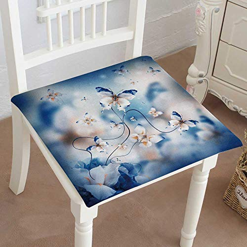 Classic Design amaz Butterfly Fairy of Flowers Hydrangeas and iris Cotton Canvas Futon 14