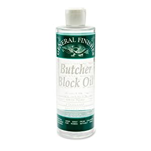 Butcher Block Oil Pint, (Saf)