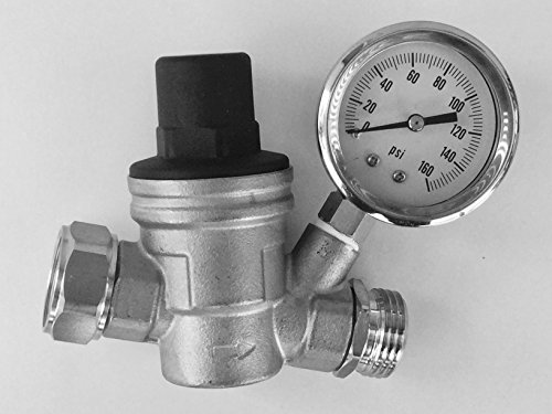 Regulator Stainless Lead free Adjustable A01 1117SS product image