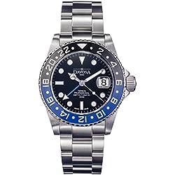 Davosa Swiss Ternos Professional TT GMT 16157145 Automatic Men's Wrist Watch