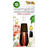Air Wick Essential Oils Diffuser Mist Refill, Peony & Jasmine, 1ct, Air Freshener