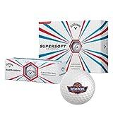 Fresno Pacific Callaway Supersoft Golf Balls 12/pkg 'Official Logo'