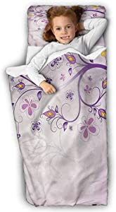 Violet Daycare Sleeping Bag Spring Growth Branches for Daycare and Preschool 43X21 INCH