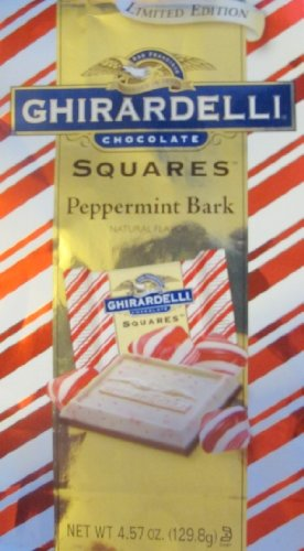 (Ghirardelli Peppermint Bark Squares 4.57 Oz Package (Single) )