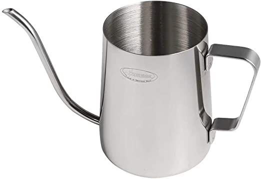 Stainless Steel Coffee Tea Kettle Pour Over Long Narrow Spout Drip Pot Gray