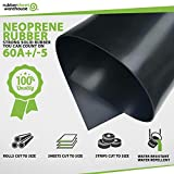 "Rubber Sheet Warehouse .125"" (1/8"") Thick x 4"" Wide"