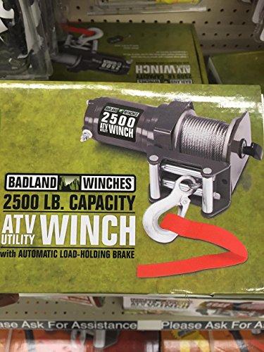 Ez Winch (Badland Winches 2500 Lb. Electric Atv Utility Winch)
