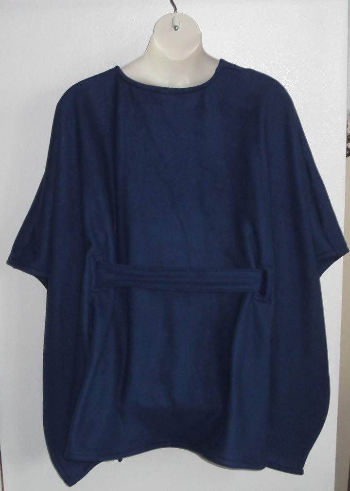 Mastectomy Shoulder Shirt FLEECE Cape Post Surgery Outerwear Shoulder Breast Cancer Special Needs Hospice Breastfeeding-Style Shandra
