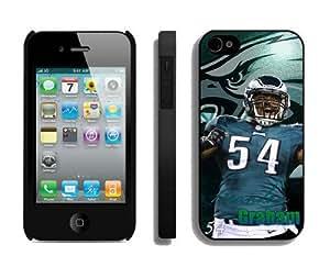 NFL Philadelphia Eagles iPhone 4 4S Case 041 iPhone 4s Cases by kobestar