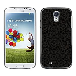 Be Good Phone Accessory // Dura Cáscara cubierta Protectora Caso Carcasa Funda de Protección para Samsung Galaxy S4 I9500 // Pattern Oriental Carving Lace Interior Design Art